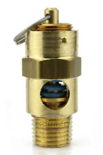 "1/4"" NPT 60 PSI Air Compressor Safety Relief Pressure Valve Tank Pop Off New"