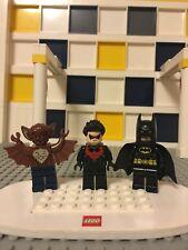 Lego 76011 Minifigures - Rare Nightwing, Batman and Man-Bat - super hero A2