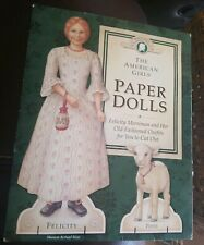 American Girls PAPER DOLLS Sealed Felicity Lamb Posie  1992 complete unopened