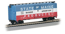 Bachmann 17038 HO Scale 40' Boxcar Bangor & Aroostook State of Maine Products