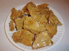 AWESOME HOMEMADE HABANERO PEANUT BRITTLE ~ MADE TO ORDER ~ 1 FULL POUND!!