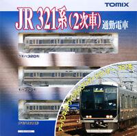 Tomix 92358 JR Series 321 Commuter Train  3 Cars Set (N scale)
