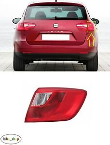 SEAT IBIZA ST 6J 2010 - 2012 NEW REAR OUTER TAIL LIGHT LAMP RIGHT O/S LHD