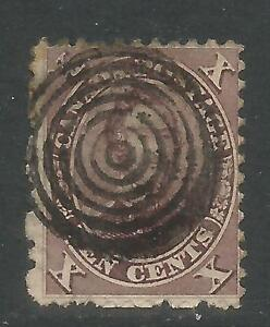 Canada 1859 Prince Albert 10c red lilac (17) used