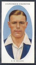 CHURCHMAN-CRICKETERS CRICKET-#34- YORKSHIRE - SELLERS