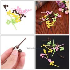 16pcs Musical Note Food Snack Fruit Picks Forks Bento Lunch Box Decor Accessory