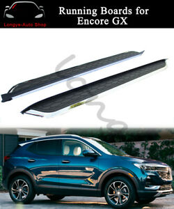Running Board fits for Buick Encore GX 2020 2021 Side Step Nerf Bars Protector