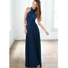 Sexy Women Multiway Wrap Convertible Boho Club Maxi Dress Bridesmaid Dresses new