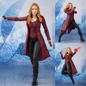 S.H.Figuarts Scarlet Witch from Avengers: Infinity War Marvel Bandai Japan