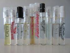 Lot Of 10 Designer perfume samples True Religion,Donna Karan,Prescriptives,DKNY,