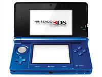 Nintendo 3DS Cobalt Blue With Luigi's Mansion: Dark Moon Very Good 8Z