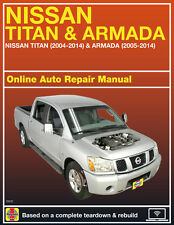 2012 Nissan Titan Haynes Online Repair Manual-Select Access