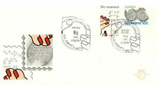 (20444) Netherlands FDC Braille / Savings 1975