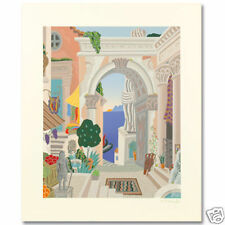 "THOMAS MCKNIGHT ""Classical City Gate"" Hand Signed"