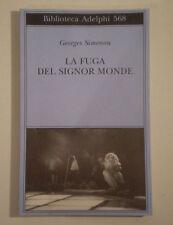 D274 LA FUGA DEL SIGNOR MONDE GEORGES SIMENON BIBLIOTECA ADELPHI 568