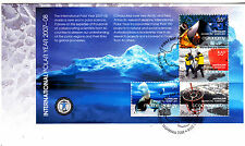 2007-08 AAT International Polar Year FDC - (Mini Sheet) Kingston Tas 7050 PMK