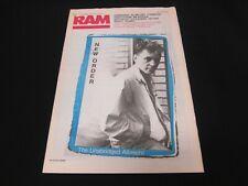Ram Magazine May 21 1985 NEW ORDER - Superb Condition - RARE!!!!