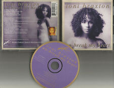 TONI BRAXTON Un Break My Heart 4TRX SOUL HEX & INSTRUMENTAL &RADIO MIX CD Single