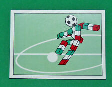 N°34 MASCOTTE PANINI COUPE MONDE FOOTBALL ITALIA 90 1990 WC WM