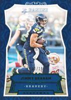 2016 Panini Bravery Green #121 Jimmy Graham 130/199 Seattle Seahawks
