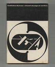 1961 Ladislav Sutnar INSCRIBED copy VISUAL DESIGN IN ACTION Beautiful 1st editon