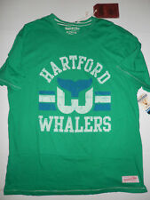 NEW Authentic Mitchell and Ness Vintage NHL Hartford Whalers T-Shirt Size XXL