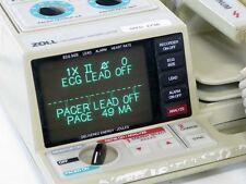 Zoll PD 2000 Defib, Pacing, EKG-ECG, 3 Lead Cables, Printer, Paddles