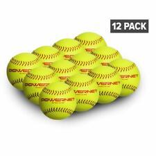 PowerNet Practice Softballs 12 PK Recreation Grade Regulation Size Balls