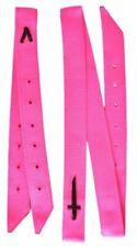 Showman® Preimum Quality PINK Nylon tie Strap and Off Billet Set Horse