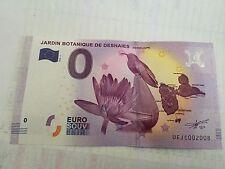 JARDIN BOTANIQUE DE DESHAIES - Billet Touristique 0 euro - Guadeloupe no 2008