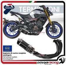 Complete Exhaust Termignoni Racing Relevance Black Carbon Yamaha Mt09 2014 14