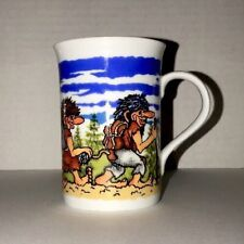 NORGE B. F. NORWAY Coffee Mug designed by UNNI WOLDVIK Family Of Four