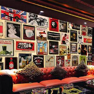 Vintage Metal Tin Sign Poster Plaque Plate Wall Art Decor Home/Bar/Pub/Club