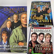 Stargate Sg-1: Fantastic Frontiers Team Spirit Opening The Ark