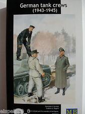 II GUERRA MUNDIAL Alemán Equipo tanque Master Box Figuras 1:35, Art Nr. MB3508