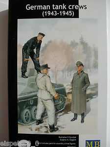 WWII Allemand Équipage Du Char Master Box Figurines 1:3 5, Art.n ° MB3508