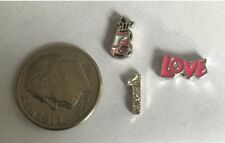 Golf Clubs Bogie Putt Hole In One Mom Love Charm Fits Origami Owl Living Locket