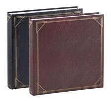 2x Fotoalbum Classic in 30x30 cm 100 weiße Seiten Buchalbum Fotobuch