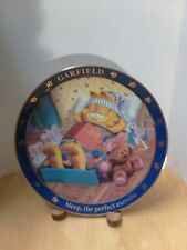"""Garfield """"Sleep, The Perfect Exercise"""" Danbury Mint Collectible Plate"""