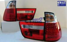 BMW X5 E53 Clear Red LED Tail Lights 99-02 Taillight