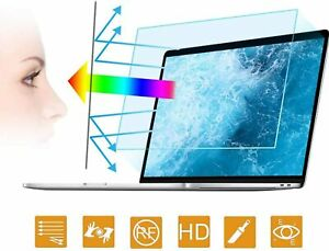 2PC 15.6 in Anti Blue Light Laptop Screen Protector Anti Glare Filter Film