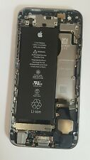 Original iphone 6s batterie back door housing case cover remplacement espace gris
