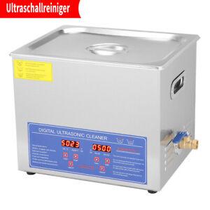300mm Ultraschall Reinigungsgerät Ultraschallreiniger Ultraschallbad 10L