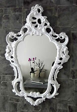 Exclusive Wall Mirror Antique Baroque Reproduction White 50X76 Decoration