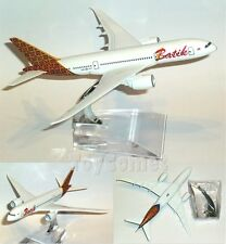 Batik Indonesia Airlines Boeing 787 Airplane 16cm DieCast Plane Model