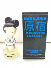 RARE~NEW+BOX~HARAJUKU LOVERS MUSIC Gwen Stefani EDT Women PERFUME Spray 1oz/30ml
