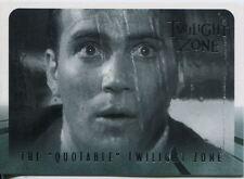 Twilight Zone Series 4 S&S Quotable Twilight Zone Chase Card Q1