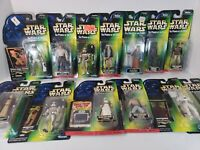 Star Wars POTF Power Of The Force Lot Of 13 Chewbacca, Han Solo, Sandtroop, Leia