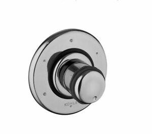 Kohler MasterShower® 3-way transfer valve trim w cylinder handle K-T9474-7-CP