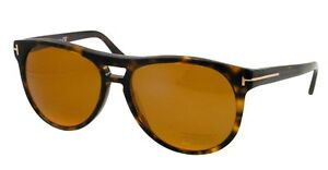 Tom Ford CALLUM Sunglasses Brown Havana Frame Polarized FT289 52H 57-15 140